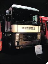 Renault AE Magnum - kamion godine 1991.