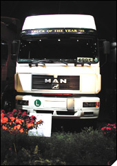 MAN F2000 - kamion godine 1995.