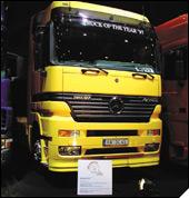 Mercedes-Benz Actros - kamion godine 1997.