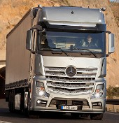 Mercedes-Benz Actros Mp4 - Truck of the year 2012.