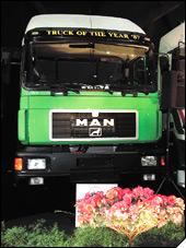 MAN F90 - kamion godine 1987.