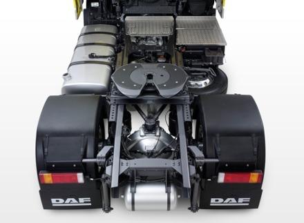 DAF XF105 - šasija