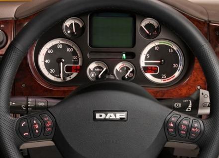 DAF XF105 - unutrašnjost