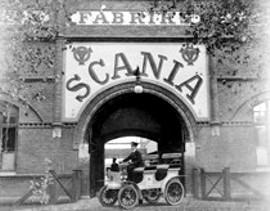 Povijest tvrtke Scania