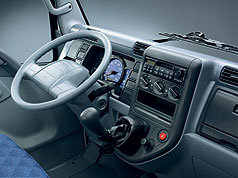 Mitsubishi Fuso Canter - unutrašnjost