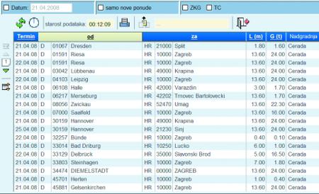 TimoCom screenshot