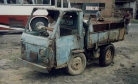 Thai funny truck
