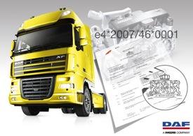 DAF - prva zajednička EU homologacija za nova vozila