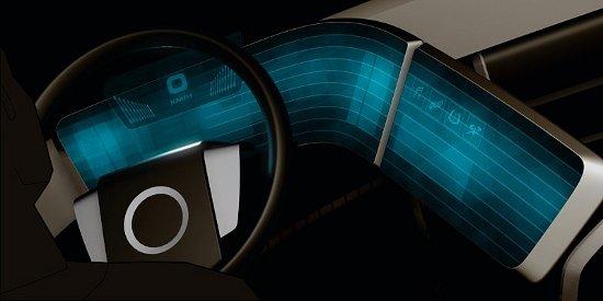 Volvo Concept interijer