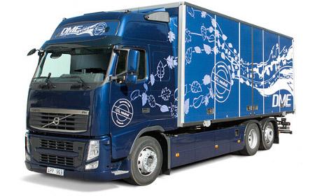 Volvo Bio-DME - dobri rezultati testova