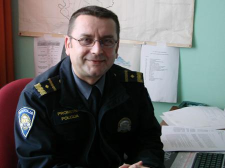 Dražen Pešić, Odsjek za sigurnost cestovnog prometa PU vukovarsko-srijemske