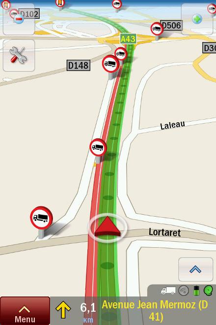 Renault Trucks GPS za iPhone
