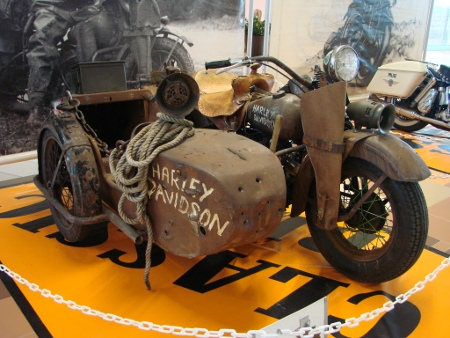 Rat-Bike Harley-Davidson WLA