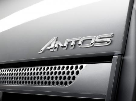 Mercedes Benz Antos - prednja maska i logo