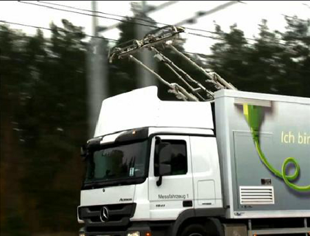 Siemens eHighway: kamioni poput trolejbusa