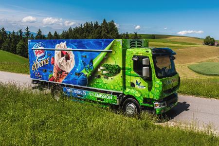 100% električna hladnjača za Nestlé Švicarska