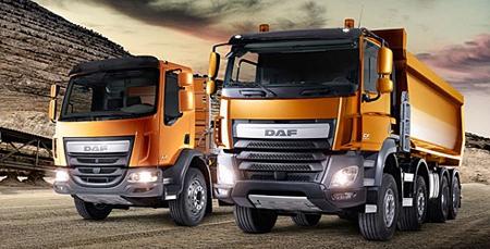 DAF lansirao nove LF i CF kamione namijenjene građevinarstvu