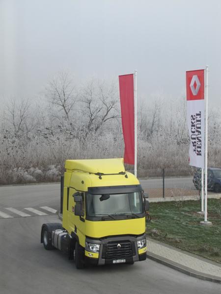 Prvi T-range Euro 6 u Hrvatskoj