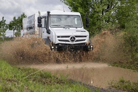 Unimog - Cross Country vozilo 2014. godine