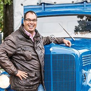Mercedes-Benz LK311 i Georg Ebeling