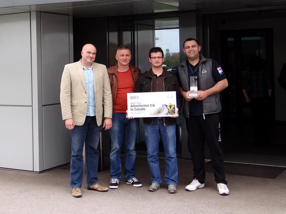 Auto Hrvatska PSC Slavonski Brod - najbolja MAN servisna radionica na svijetu za 2014. godinu