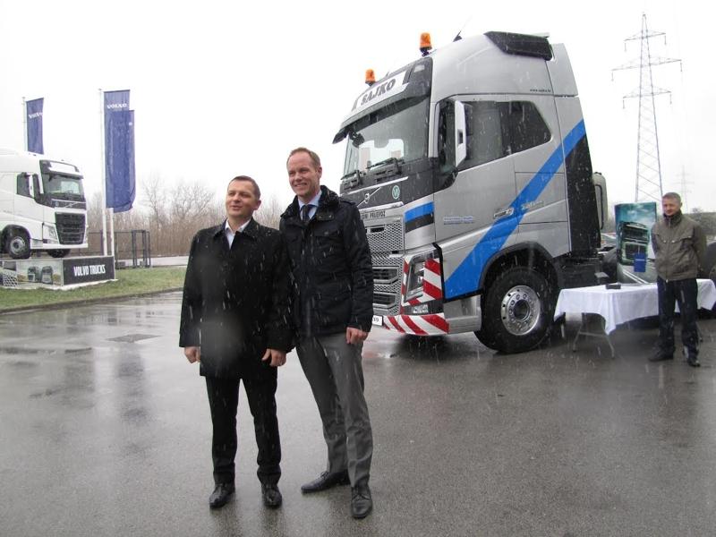 FH16 750 - perjanica Volvo Trucks-a za tvrtku Sajko