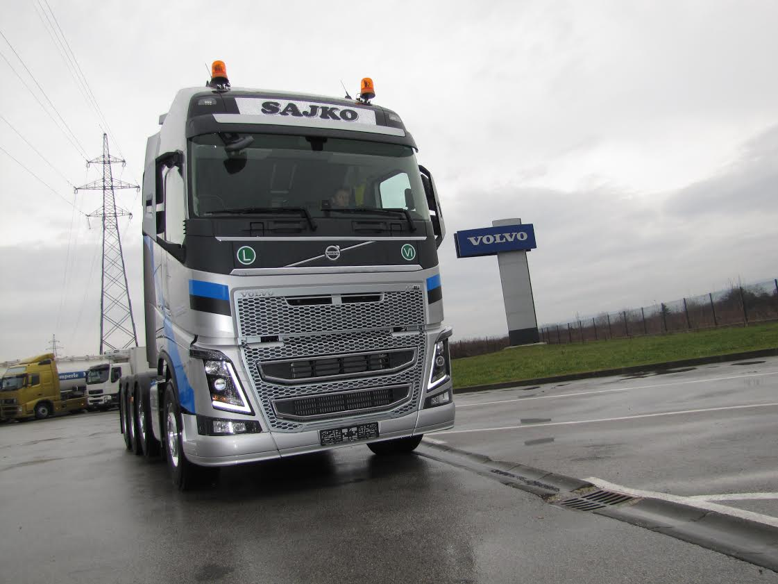 Novi Volvo FH16 750 tvrtke Sajko