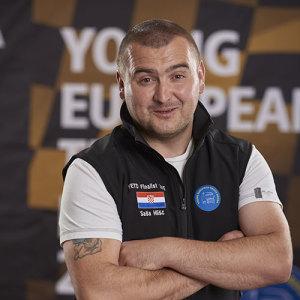 Hrvatski predstavnik Saša Hlišć