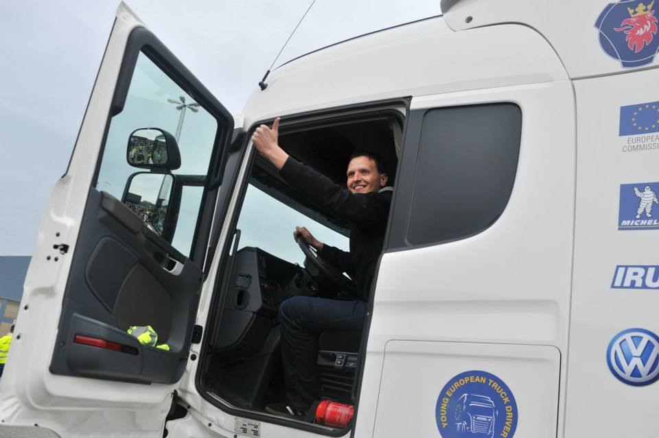 Young European Truck Driver 2015.- nova Scania danskom vozaču