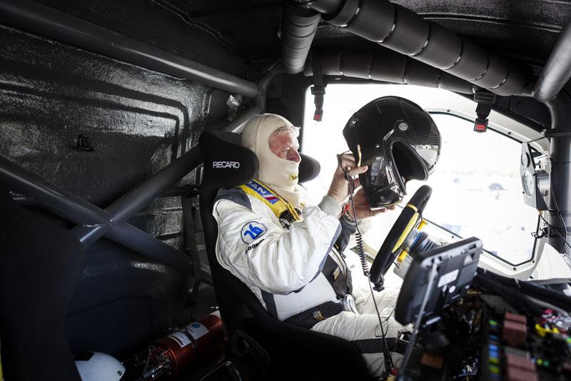 Volvo Iron Knight i Boije Ovebrink - svjetski brzinski rekorder