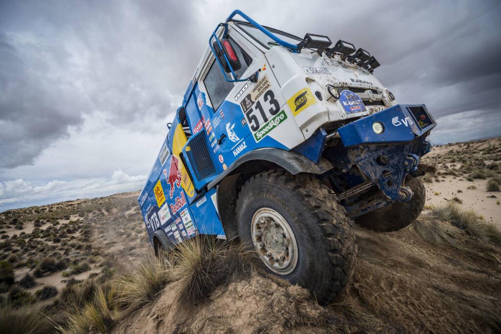 Dakar 2017 - drugoplasirani Sotnikov (RUS), Kamaz