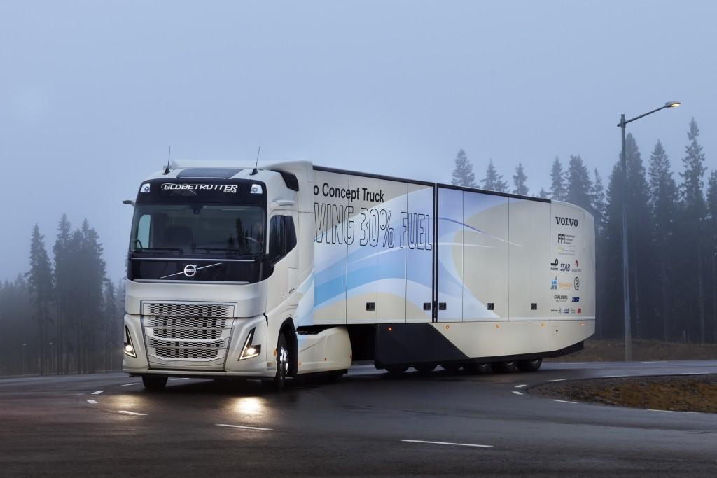 Konceptni kamion Volvo Trucks-a: testiranja hibridnog pogona za primjenu u transportu na duge relacije