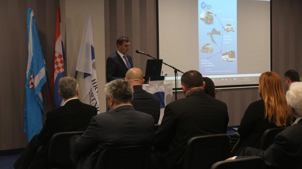 Emilio Bajlo, predsjednik Ceha prijevoznika HOK-a