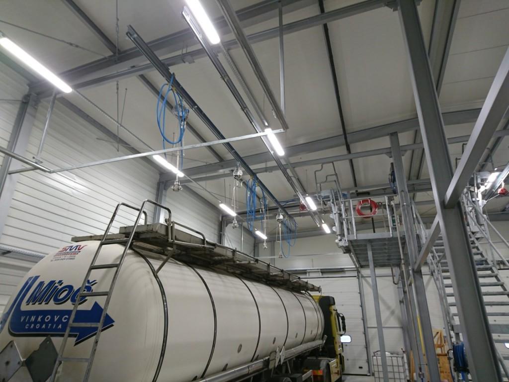 Praonica za pranje kamiona i unutarnje pranje cisterni Mioč, Antunovac (Osijek)
