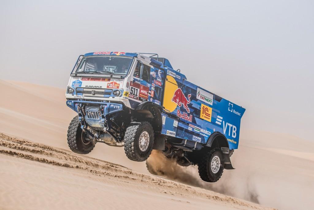 Ekipa KAMAZ-master na Goodyearovim gumama neporažena na legendarnom Dakaru