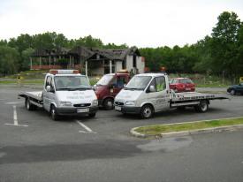 Vučna služba na autoputu