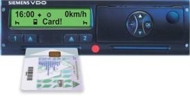 Digitalni tahograf s karticom
