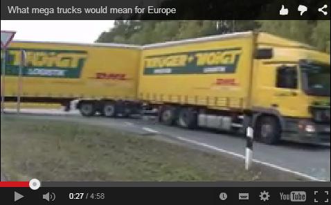 Europska kampanja protiv kamiona gigalinera
