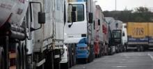 Kamioni na graničnom prijelazu