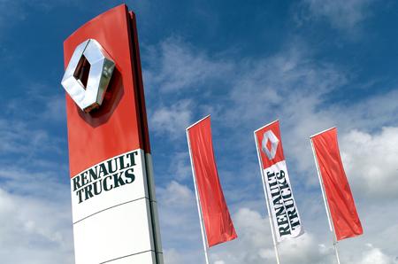Renault Trucks prodajno-servisna mreža