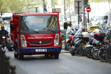 Tafanelov Renault Maxity Electric u Parizu se pokazao kao vozilo pogodno za gradsku vožnju.