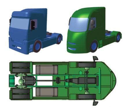 Aluminijski CMS kamion