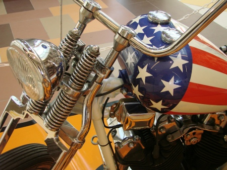 Harley Captain America style, Avenue Mall Osijek
