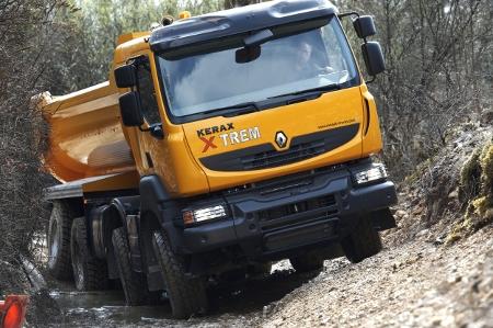 Renault Kerax XTREM u akciji