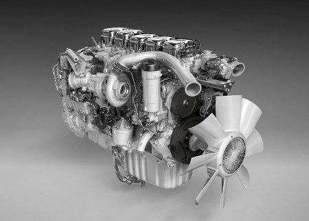 Scania Euro 6 motor bez EGR-a