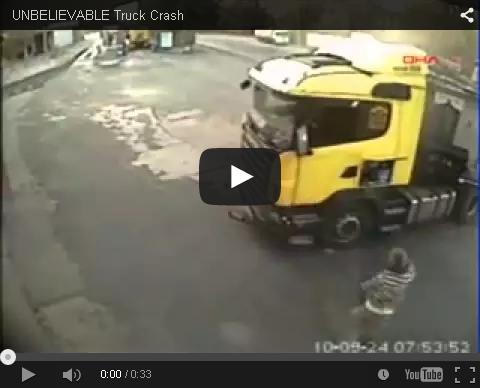 Kamionska prometna nezgoda
