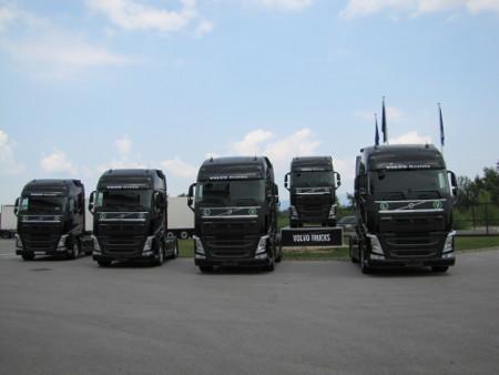 Volvo kamioni za Mesaroli Logistiku d.o.o.