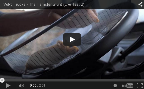 Volvo - The Hamster Stunt