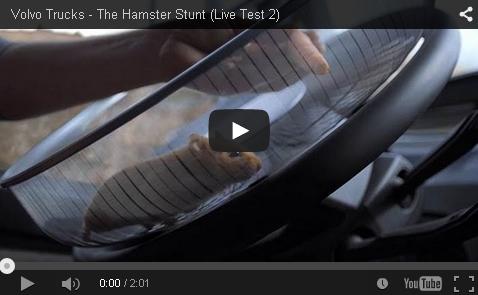 Volvo - The Hamster Stunt