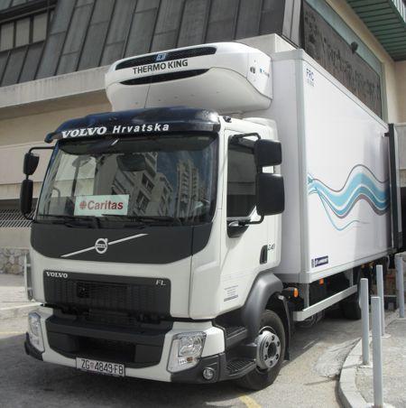 Caritas i Volvo za poplavljena područja